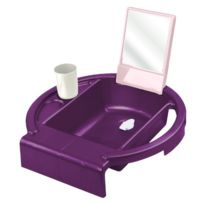 Rothobabydesign - Rotho Babydesign - 20034017901 - Mini Lavabo - Fonctionnel - Cassis/ROSE/BLANC