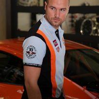 Gulf - Polo Racing Team bleu pour homme taille Xxxl