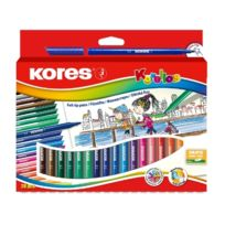 Kores - Feutre Coloriage Korello Etui De 20 Pte Fine Assortis Fs29012