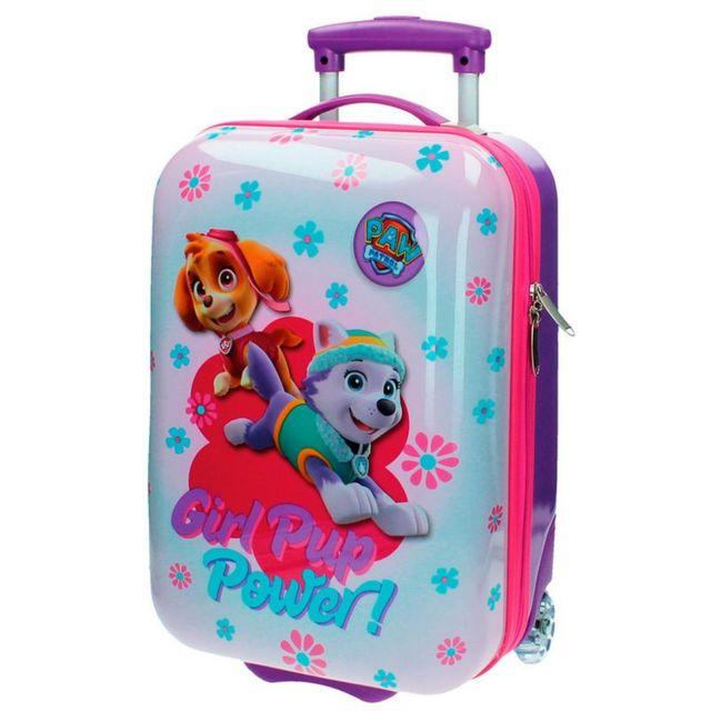 nouveau concept c6f34 98588 Valise trolley La Pat Patrouillle 48 cm bagage cabine enfant Disney