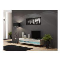 meuble tv suspendu - achat meuble tv suspendu pas cher - rue du ... - Meuble Tele Suspendu Design