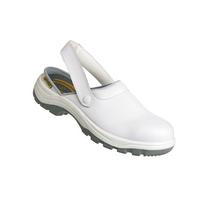 Safety Jogger - Chaussure de cuisine Sabot sécurité cuisine industrie Blanc P40