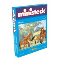 Ministeck - Paarden 4 In 1 Ca. 1.600 Delig