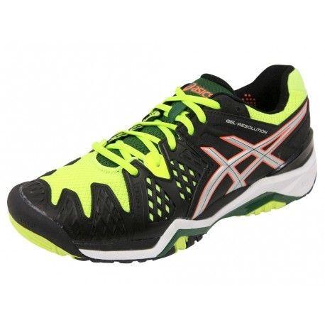 1 Resolution 6 Chaussures Tennis 40 Gel Noir Homme Nrjn Asics 4q5L3jARc