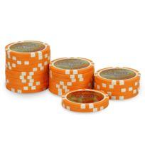 Pokeo - Rouleau 25 jetons Laser Las Vegas $2 orange