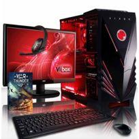 VIBOX - Processeur APU CPU Dual Core AMD A4 - Carte Graphique Nvidia GTX 1050 2 Go - 8 Go RAM - Disque Dur 1 To - Pas de Windows