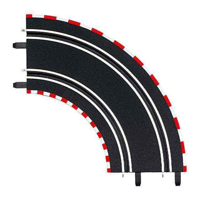 Carrera Circuit de voitures Digital 143 : Extension de 2 courbes à 90
