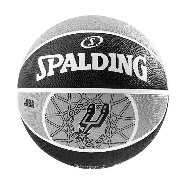 65ff795a8e598 Spalding - Ballon Team San Antonio Spurs T5 noir, accessoires mixte - pas  cher Achat / Vente Ballons basket - RueDuCommerce