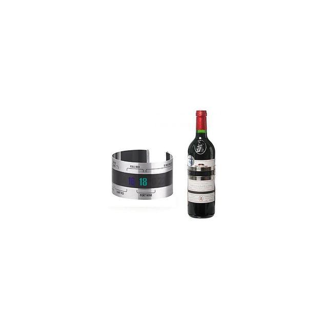 Alpexe Collier a vin Inox pour controler la température optimale de dégustation facilement numerique Bar a vin