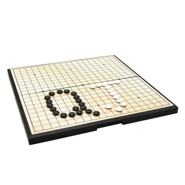 Wewoo Jeu de puzzle étudiant pièce d'échecs magnétique portable d'échiquier pliable