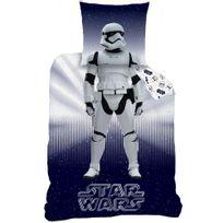 Star Wars - Housse de couette Stormtrooper 140x200 + taie 63x63 enfant 100 % coton