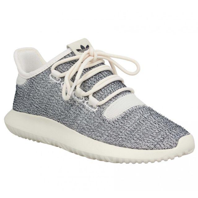 adidas tubular shadow gris blanc