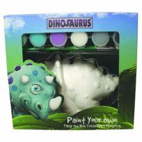 Dinosaurus - Topsy Tirelire À Peindre Soi-mÊME Bleu