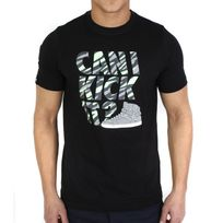 Wrung - Tshirt Can I Kick It Noir