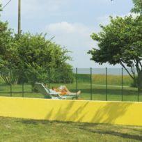 Intermas - Grillage plastique maille 1cm - vert - 1 x 25 m Cuadranet