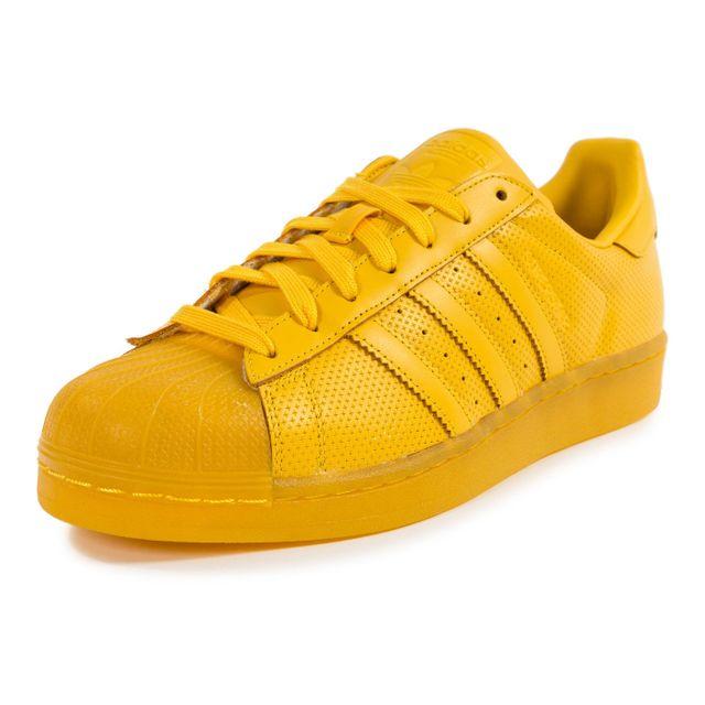 adidas superstar toute jaune