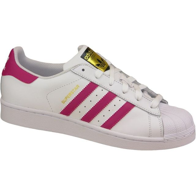Adidas - Superstar J Foundation B23644 Rose