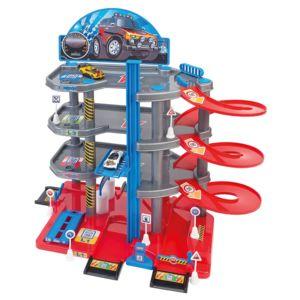 globo garage 4 niveaux avec ascenseur et petite voiture pas cher achat vente jouets de. Black Bedroom Furniture Sets. Home Design Ideas