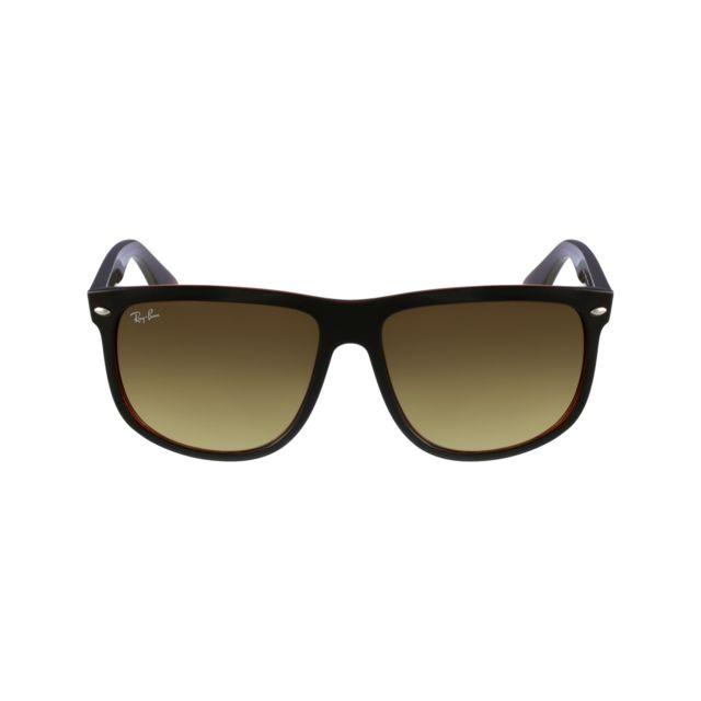 lunette de soleil ray ban marron
