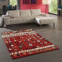 Tapis Dessous De Tapis Marokko Tapis De Salon 120x170 Cm Rouge Et Beige