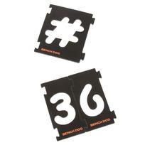 Benchdog - Ensemble 31 pièces de fraisage de chiffres - 31 pièces