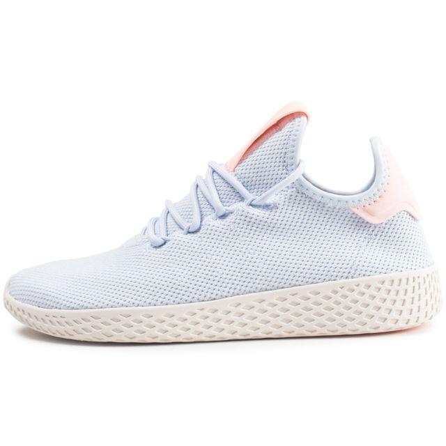 Adidas - Pharrell Williams Tennis Hu Bleue Femme - pas cher ...