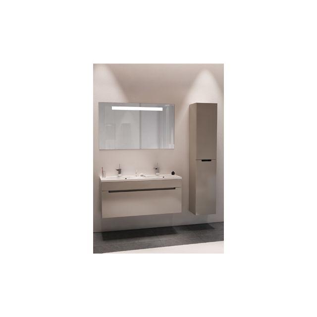 Riho Ensemble meuble & lavabo Enna Set 42 en bois laqué brillant 100x38 H 53,5 cm