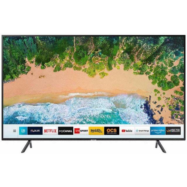 samsung tv led 65 pouces 165 cm ue65nu7105 pas cher. Black Bedroom Furniture Sets. Home Design Ideas