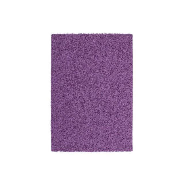 Tapis de salon Shaggy Trendy 30mm 160x230cm Violet