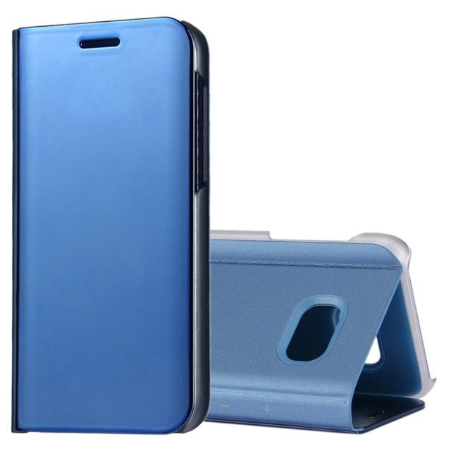 wewoo housse tui bleu pour samsung galaxy a5 2017 a520 galvanoplastie miroir horizontal en. Black Bedroom Furniture Sets. Home Design Ideas