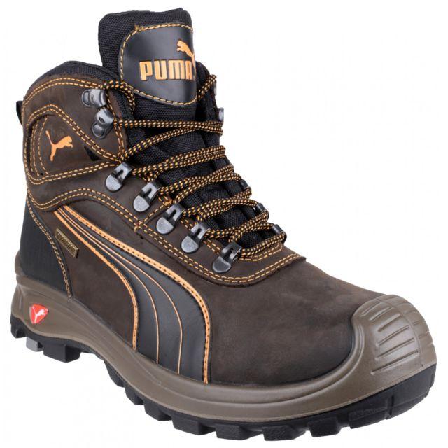 Puma Safety Amsterdam Mid Chaussures Montantes De Sécurité Homme (Noir) Utfs2993