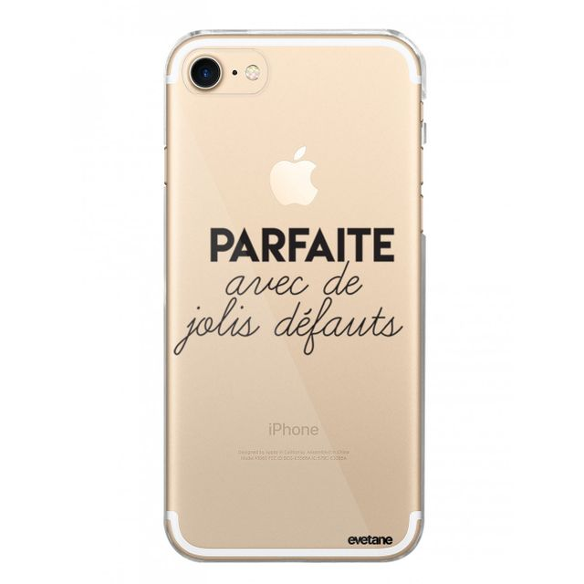 coque iphone 8 transparente avec motif