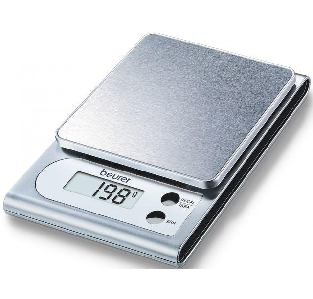 Beurer Balance de cuisine électronique 3 kg graduation 1 gramme Ks22 Inox