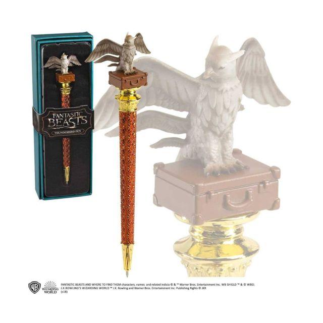 Noble Collection Les Animaux fantastiques - Stylo à bille Thunderbird