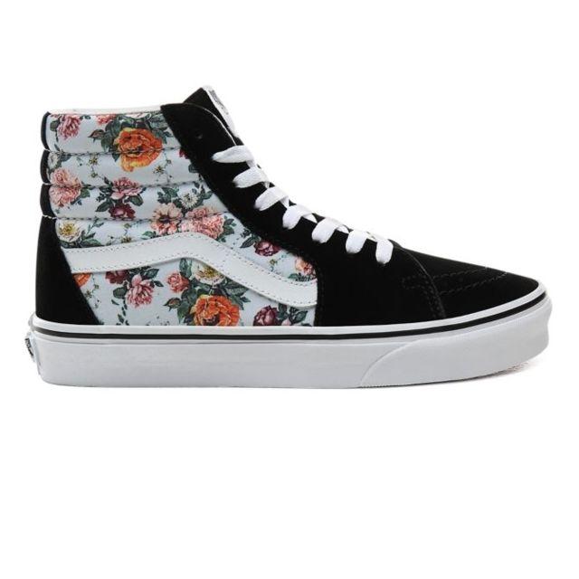 Vans Sk8 Hi Garden Floral femme Chaussures Baskets femme
