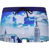 Pull-in - Pull In Boxer Bain Moulant Homme Copacabana Leap Bleu