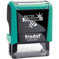 """Printy - tampon les p'tits champions, formule """"champion de grammaire"""