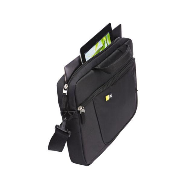 """CASE LOGIC AUA316K - Sacoche PC 15,6"""" - Noir Offrez-vous une sacoche moderne et fonctionnelle pour transporter toutes vos affaires de la journée!"""