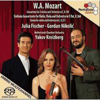 Pentatone - Wolfgang Amadeus Mozart - Concertone K.190, Symphonie concertante K.364, Rondo K.373
