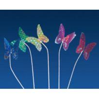 Az Boutique - Pique décoration papillon métallisé pour glace 15cm - Lot de 100 - Décoration glace