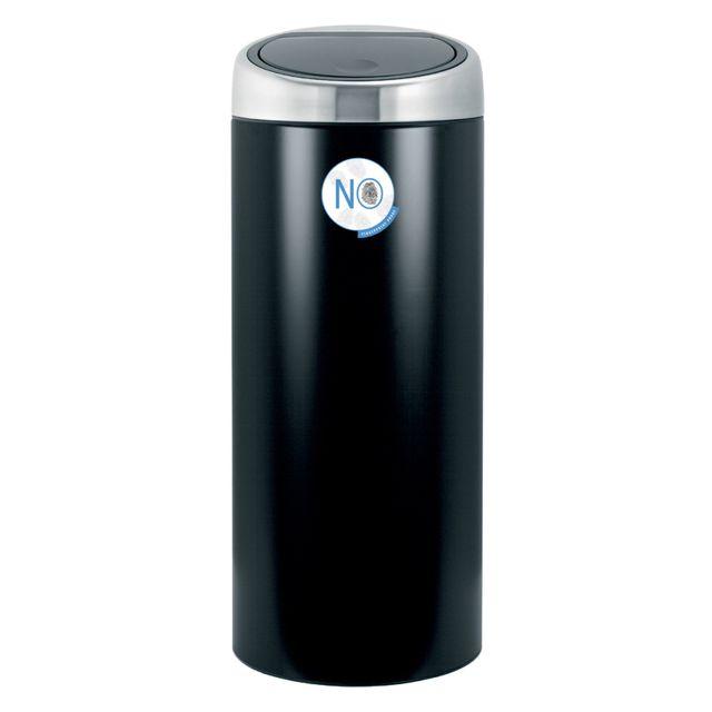 brabantia poubelle 30l noir mat 378744 pas cher achat vente poubelle de cuisine. Black Bedroom Furniture Sets. Home Design Ideas