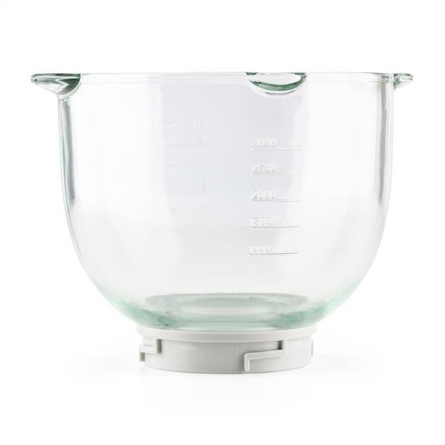 KLARSTEIN Allegra Bowl Bol mélangeur en verre 3L accessoire robot de cuisine