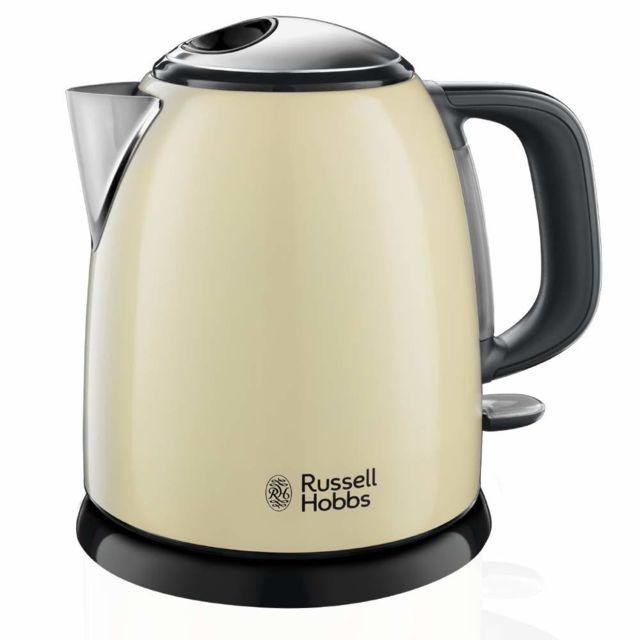 RUSSELL HOBBS bouilloire sans fil 1l 2400w crème - 24994-70