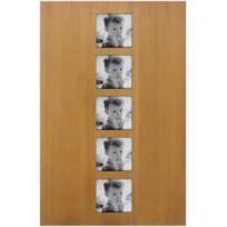BARCLER - Grand cadre photo en bois exotique