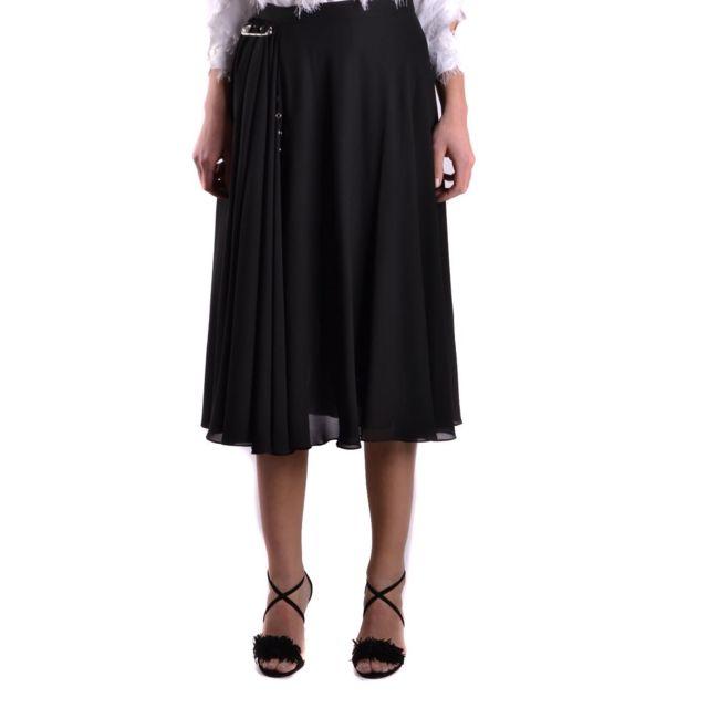 Versus By Versace Versus Versace Femme Bd30423BT20874B1008 Noir Polyester Jupe