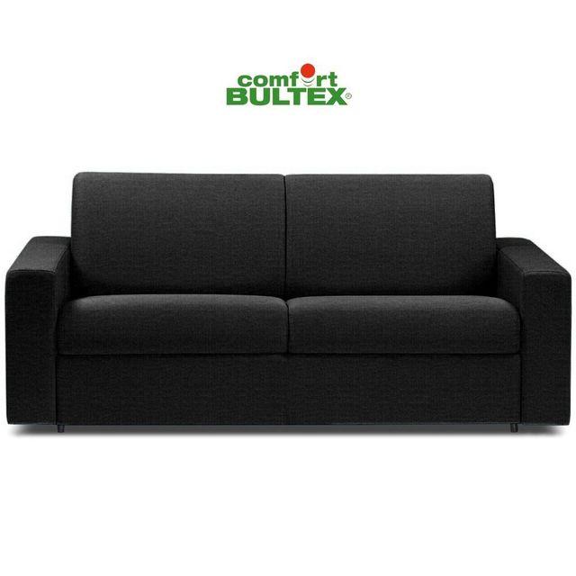inside 75 canap convertible rapido cr puscule matelas 140cm comfort bultex tissu tweed gris. Black Bedroom Furniture Sets. Home Design Ideas