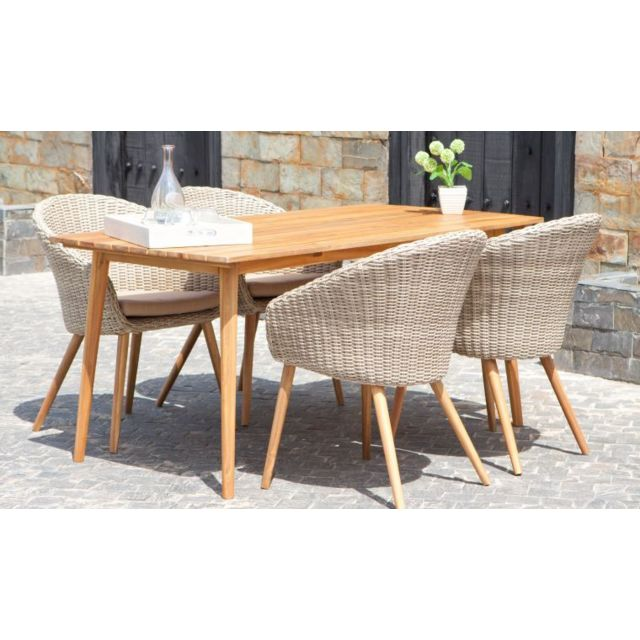 House and Garden - Salon De Jardin Alicante 4 Personne En ...