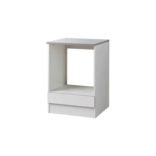 Meuble four L60xH86xP60cm - blanc