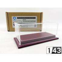 Atlantic Case - 1/43 - Boite-vitrine Show-case 1/43 - Mulhouse Cuir Bordeaux - 10087