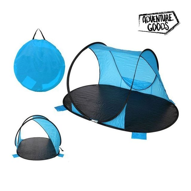 Adventure Goods Paravent 25373 220 x 145 x 110 cm, Bleu Noir Paravent Adventure Goods 25373 (220 x 145 x 110 cm) Bleu Noir